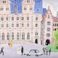 ハイデルベルク城の結婚式(ドイツ)05・12・05掲載