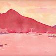 ヴェスヴィオ火山(南イタリア)。060821掲載。